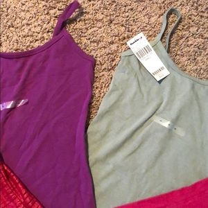 Buckle Tops - Three new tank tops and one like new!